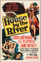 HOUSE by the RIVER FILM Rlhg-POSTER/REPRODUCTION d1 AFFICHE VINTAGE