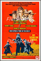 CINéMA ONCE UPON a TIME in WEST Rffw-POSTER/REPRODUCTION d1 AFFICHE VINTAGE