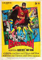 BATMAN FILM Rryr-POSTER/REPRODUCTION d1 AFFICHE VINTAGE