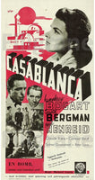 CASABLANCA FILM Rbab-POSTER/REPRODUCTION d1 AFFICHE VINTAGE