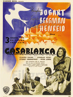 CASABLANCA FILM Ryyg-POSTER/REPRODUCTION d1 AFFICHE VINTAGE