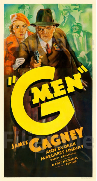 G MEN FILM Rdsu-POSTER/REPRODUCTION d1 AFFICHE VINTAGE