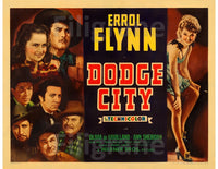DODGE CITY FILM Rkpv-POSTER/REPRODUCTION d1 AFFICHE VINTAGE