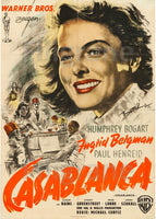 CASABLANCA FILM Rewr-POSTER/REPRODUCTION d1 AFFICHE VINTAGE