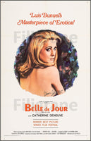 BELLE de JOUR FILM Rvxl-POSTER/REPRODUCTION d1 AFFICHE VINTAGE