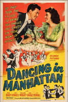 DANCING in MANHATTAN FILM Ruwz-POSTER/REPRODUCTION d1 AFFICHE VINTAGE