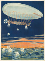 AVIATION ROMANUS I ZEPPELIN Rpcy-POSTER/REPRODUCTION  d1 AFFICHE VINTAGE