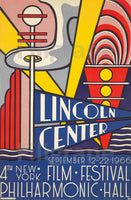 LINCOLN CENTER FILM 1966 Rmnz-POSTER/REPRODUCTION  d1 AFFICHE VINTAGE