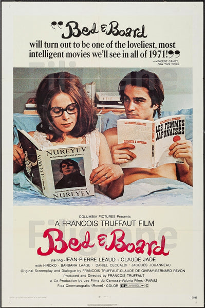BED e BOARD FILM Ryyp-POSTER/REPRODUCTION d1 AFFICHE VINTAGE