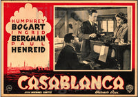 CASABLANCA FILM Riyx-POSTER/REPRODUCTION d1 AFFICHE VINTAGE