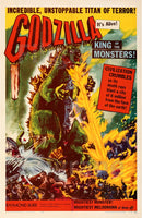 GODZILLA FILM Rqew-POSTER/REPRODUCTION d1 AFFICHE VINTAGE