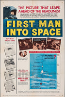CINéMA FIRST MAN INTO SPACE Rdkd-POSTER/REPRODUCTION d1 AFFICHE VINTAGE
