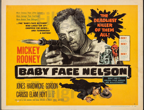 BABY FACE NELSON FILM Rhkr-POSTER/REPRODUCTION d1 AFFICHE VINTAGE