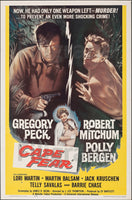 CAPE FEAR FILM Rffg-POSTER/REPRODUCTION d1 AFFICHE VINTAGE