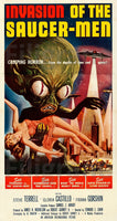 INVASION SAUCER MEN FILM Rrgs POSTER/REPRODUCTION  d1 AFFICHE VINTAGE