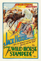 Jack HOXY WILD HORSE  FILM Rqin POSTER/REPRODUCTION  d1 AFFICHE VINTAGE