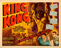 KING KONG  FILM Resa POSTER/REPRODUCTION  d1 AFFICHE VINTAGE