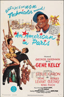 AN AMERICAN IN PARIS FILM Ryne-POSTER/REPRODUCTION d1 AFFICHE VINTAGE