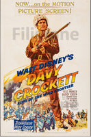 DAVY CROCKETT FILM Rmuz-POSTER/REPRODUCTION d1 AFFICHE VINTAGE