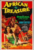 AFRICAN TREASURE FILM Rpvh-POSTER/REPRODUCTION d1 AFFICHE VINTAGE