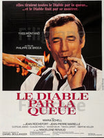 CINéMA Le DIABLE par la QUEUE Rcrd-POSTER/REPRODUCTION d1 AFFICHE VINTAGE