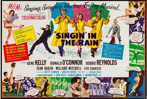 FILM SINGIN' in the RAIN Rycy-POSTER/REPRODUCTION d1 AFFICHE VINTAGE