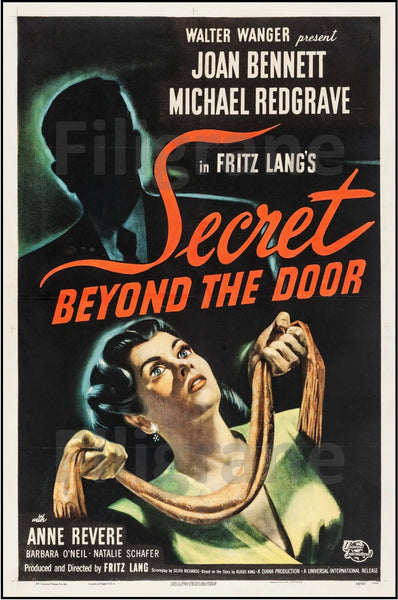 CINéMA SECRET BEYOND the DOOR Rysw-POSTER/REPRODUCTION d1 AFFICHE VINTAGE