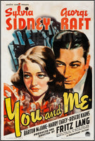 FILM YOU and ME Fritz LANG Rgnd-POSTER/REPRODUCTION d1 AFFICHE VINTAGE