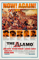 FILM The ALAMO Rvis-POSTER/REPRODUCTION d1 AFFICHE VINTAGE