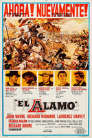 FILM The ALAMO Rvog-POSTER/REPRODUCTION d1 AFFICHE VINTAGE