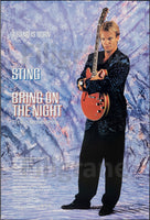 CINéMA STING BRING on the NIGHT  Rgnm-POSTER/REPRODUCTION d1 AFFICHE VINTAGE