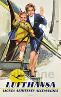 AVIATION LUFTHANSA Rpcp-POSTER/REPRODUCTION d1 AFFICHE VINTAGE