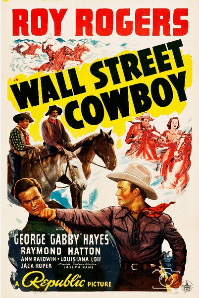 FILM WALL STREET COWBOY Rzjp-POSTER/REPRODUCTION d1 AFFICHE CINéMA