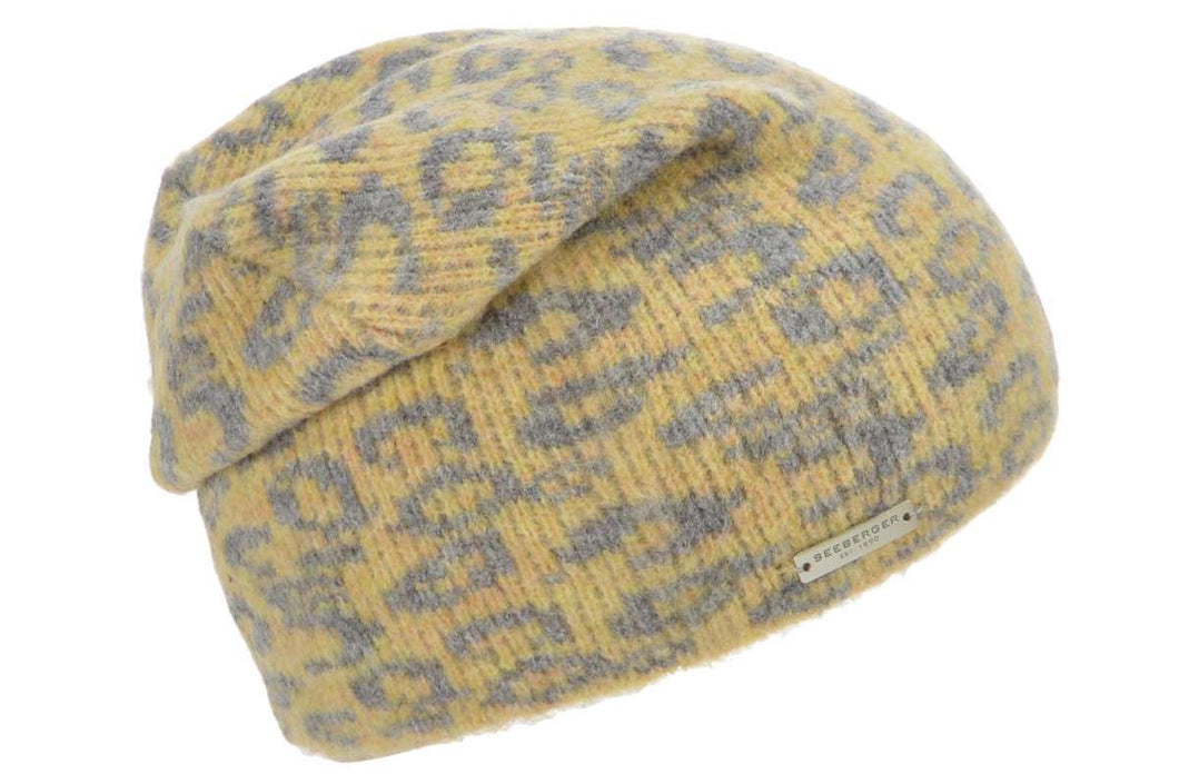 Seeberger headsock in leo jacquard