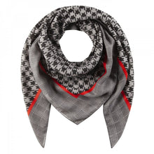 Load image into Gallery viewer, Codello Dogtooth check Scarf