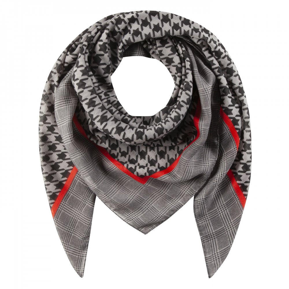 Codello Dogtooth check Scarf