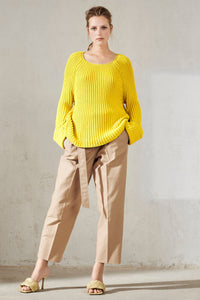 Luisa Cerano Lime Sweater