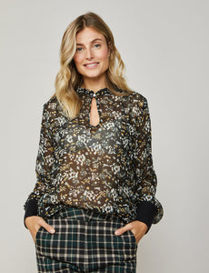 Summum Flower Print Shirt