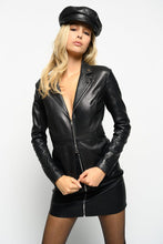 Load image into Gallery viewer, Pinko Stravedere leather jacket