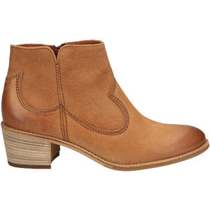 Paul Green Brown leather cowboy boots