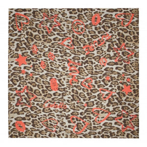 Codello leopard and orange print