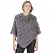 Load image into Gallery viewer, Oakwood Real Fur Poncho