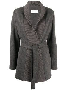Fabiana Filippi Herringbone Belted Jacket