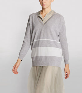 Fabiana Filippi Silver Sweater