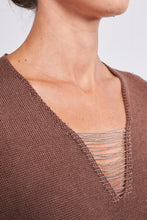 Load image into Gallery viewer, Peserico Sweater with chain detail