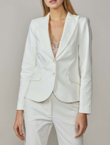 Shell fitted blazer