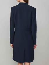 Load image into Gallery viewer, Midnight blue long fitted blazer