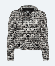 Load image into Gallery viewer, Tweed jacket in a contrasting design