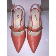 Load image into Gallery viewer, Lodi Coral Jewel slingback