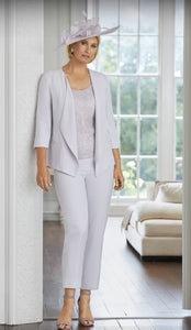 Condici cream trouser suit